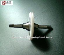 Zirconia ceramic and metal guide roller