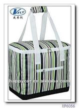 2014 New Designer Insulated Cooler Bag with Front Zipper Pocket (UF6056)