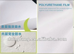 hospital waterproof mattress cover with zipper