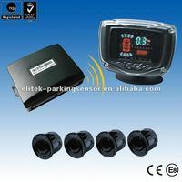 car wireless parking sensor system with VFD display