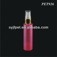 60ml shining golden spray plastic bottle
