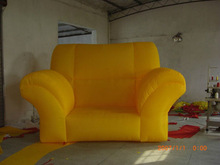 Inflatable chair/sofa for advertising