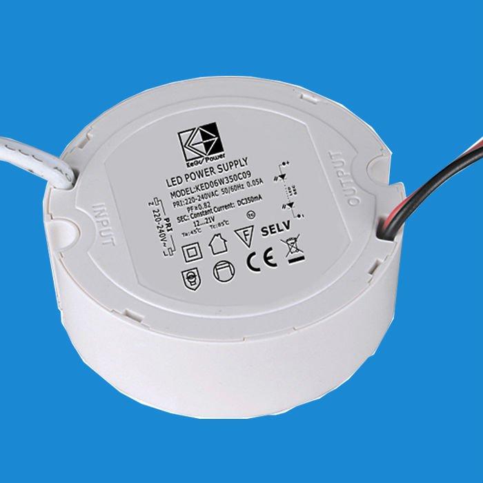 LED Power Supply Circular Shape CE 1 Million PCS Monthly