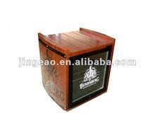 50L wooden box mini bar fridge, mini bar refrigerator