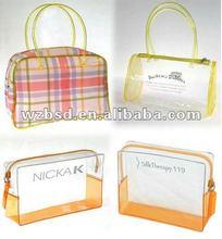 2012 hot sale bags cosmetic, plastic cosmetic bags,w pvc handbags