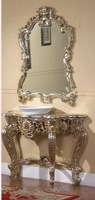 decorative home ornament alter table&resin frame mirror
