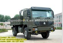 HOWO 4x4 All-wheel Military Truck