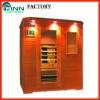 Multi-user outdoor infrared sauna room