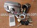Electronic fechamento do portão gal-605a com cartão deidentificação rfid e controle remoto