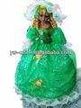 Alta- qualidade moda arte& decoração artesanais de porcelana boneca princesa