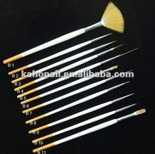 china manufacture nair art nail beauty cometic manicure tool set gel brush professional full set uv gel brush pen