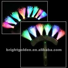 Blinking Fiber Optic Mohawk Head 6 modes