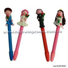 Polymer Clay Ball Pen