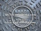 EN124 B125 C250 D400manhole cover locks, custom manhole cover, trench drain manhole cover