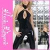 2012 Open Bust Wholesale sexy leather pvc lingerie