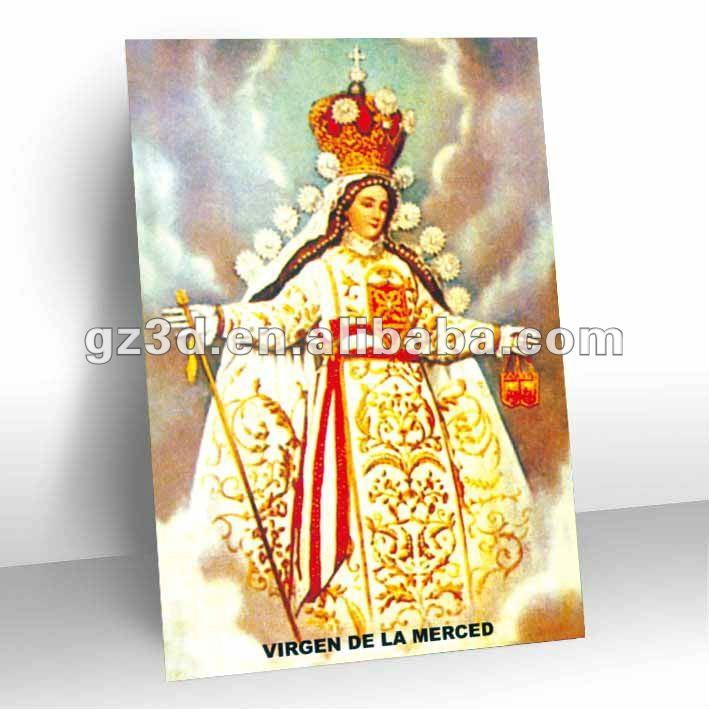impressão 3d imagem religiosa papa para decoração de parede