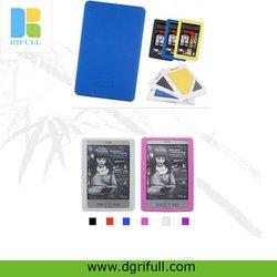 decorative silicone book cover