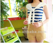 new fashion design striped printing woman clothes in 2014 summer