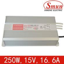 CE and RoHS led flashlight driver 15v (SMV-250-15)