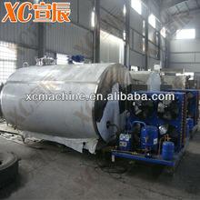 Milk storage tank storage machine