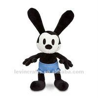 "Oswald The Lucky Rabbit 18"" H Plush"