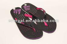 Women plain cheap casual printed eva slipper 2012