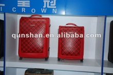 trolley case&2012 new PU trolley case&Wholesale trolley luggage