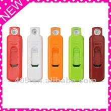 2012 mini plastic usb rechargeable lighter