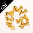 Fashion gold metal clothing studs for garment 2014 AR0035(2)