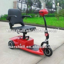 Three wheel electric scooter with seat DL24250-1 with CE certificate