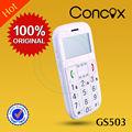 cellulare con grande pulsante e sos allarme gps per anziani gs503