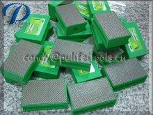 Wet /Dry Diamond hand polishing pads - glass and stone polishing