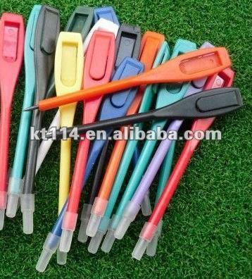 2014 Hot Sale!!!Multi Color Plastic Golf Score Pencil