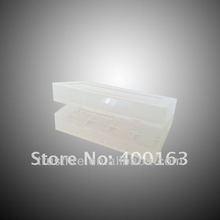 trustfire original factory clear color 18350 plastic battery case box battery