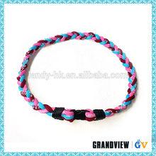 пользовательских германия титана оёерелье шнура опт, атласная шнур ожерелье, плетеные шнуры оёерелье