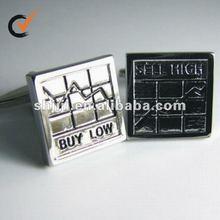 Share Cufflinks Buy Low Sell High Set Cufflinks