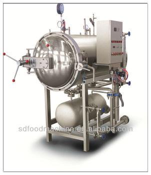 Electric and Steam Spray Sterilization Retort(Stainless Steel )