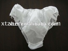 SPP film and filmed disposable non-woven Sauna under pants and panties with different colors and sizes available