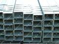 soldados retângulo de tubos de aço