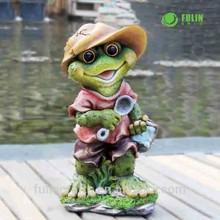 Wholesale Figurine Polyresin Garden Frog Crafts