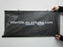 Car front roller sunshade PVC material
