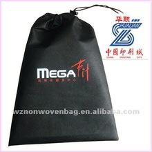 Recycle non woven shoes drawstring bag(HL-40066)