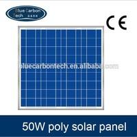 hot price per watt 50W photovoltaic solar panel