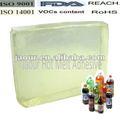 De fusión en caliente adhesivo ( bloque forma ) para coca - cola material del opp película de la perla de la etiqueta