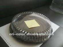 transparent plastic cake container
