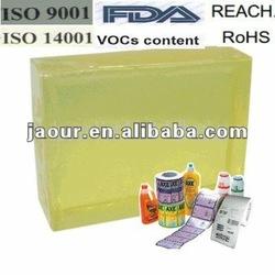 hot melt adhesive(block shape) for glossy laminated paper label