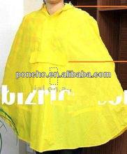 "high quality 50*80""adults PVC rain poncho"