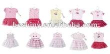 fashion beautiful dress baby clothes 91086