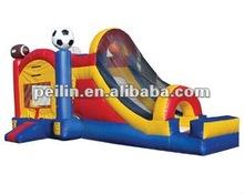 2012 hotsale inflatable bouncy and slide combo