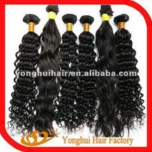 2012 Hot-selling lady virgin Brazilian hair extension